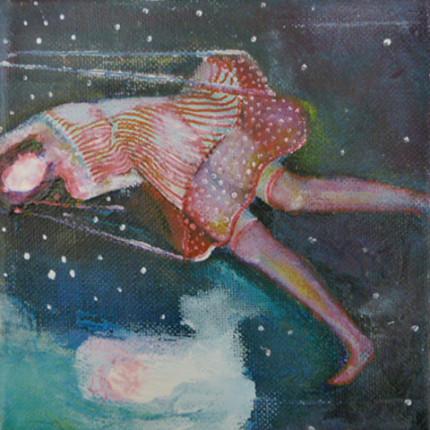 """o.T."", Acryl auf Leinwand, 15x15cm, 2013"